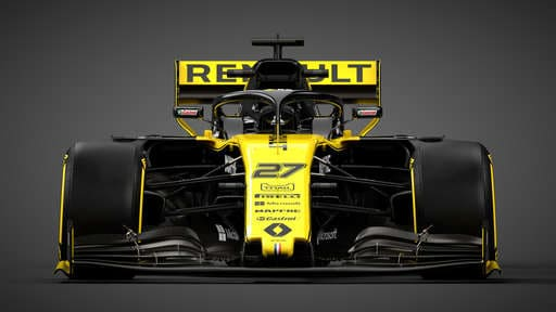 125217-Renault RS19 - Straight On