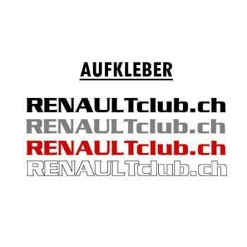 Renault-Aufkleber